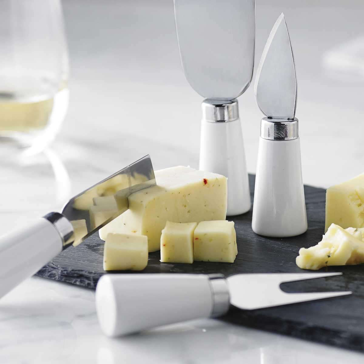 Cheese Platters and Knives