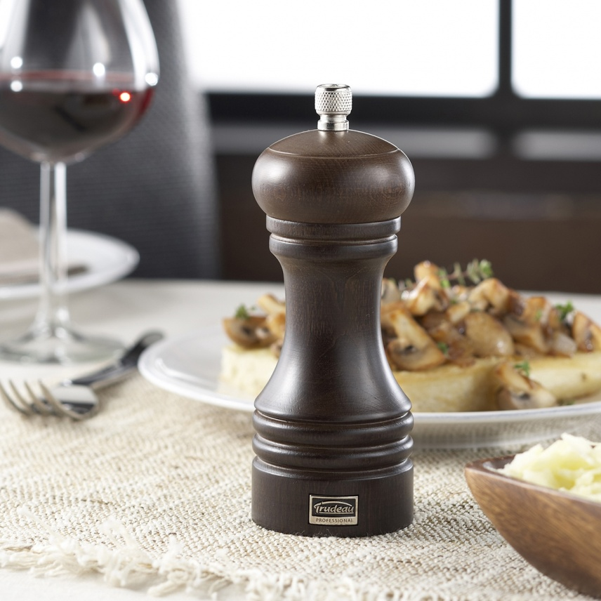 "6"" PROFESSIONAL PEPPER MILL WOOD"