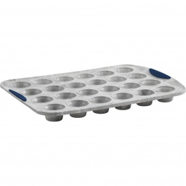 STRUCTURE SILICONE 24CT MINI MUFFIN PAN MARBLE