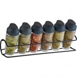 6 Bottle Horizontal Spice Rack