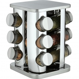 12 Bottle Square Spice Carousel