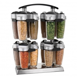 16 BOTTLE QUAD SPICE CAROUSEL