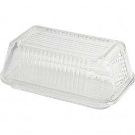 Linea Glass Butter Dish W/lid - Gift Box