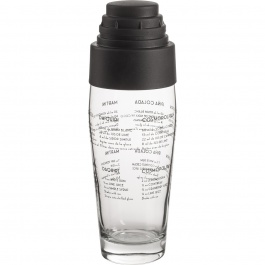 GLASS COCKTAIL SHAKER 20 OZ