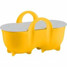 Double Egg Poacher with Lid