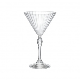 America '20s Martini Glasses 8.5oz Bx/4 - Bormioli Rocco