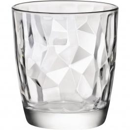 Diamond Dof Glasses 13oz Bx/4 - Bormioli Rocco