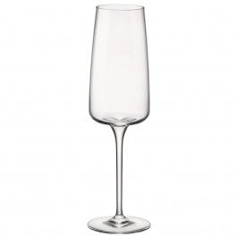 Planeo Champagne Flutes 8.75oz Bx/4 - Bormioli Rocco