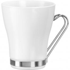 AROMATECA OSLO CAPPUCCINO CUP 8 OZ WHITE