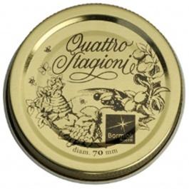SET OF 2 QUATTRO STAGIONI MEDIUM CAPS
