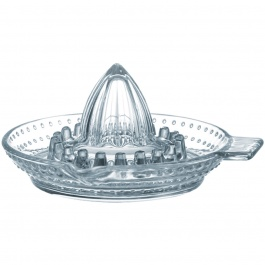 CITRUS JUICER CLEAR GLASS 5''