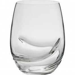SET OF 2 OXYGEN STEMLESS WINE GLASSES - 17 OZ