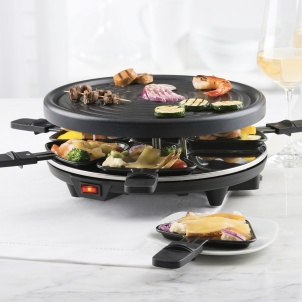 Trudeau Grilly Raclette Party Grill For 6