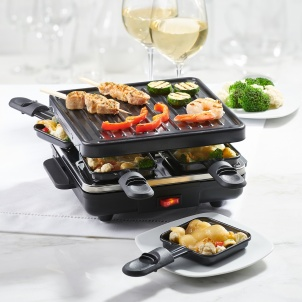 Trudeau Festivo Stamp Grill For 4