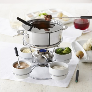 Trudeau 18 PIECE FENTY 3-IN-1 FONDUE SET