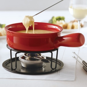 Trudeau CARDINAL CHEESE FONDUE SET
