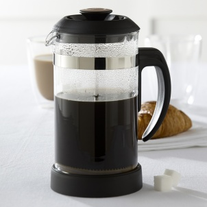Trudeau BLACK AND BROWN COFFEE PRESS 34 oz