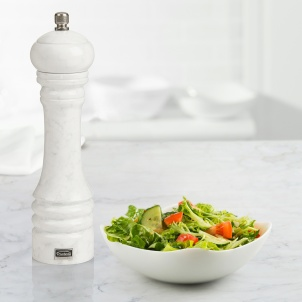 "Trudeau 9"" PROFESSIONAL PEPPER MILL  MARBLE FINISH"
