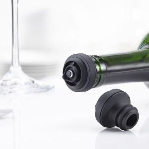 Trudeau SET OF 2 WINE PUMP STOPPERS