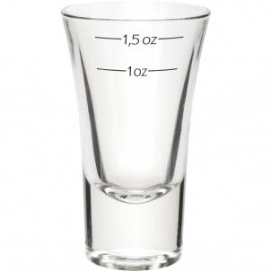 Trudeau DUBLINO SHOT GLASS WITH MEASUREMENTS - 2 OZ