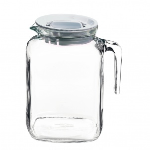 Trudeau FRIGOVERRE JUG WITH HERMETIC FROSTED LID - 77.75 OZ