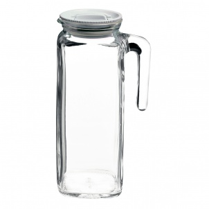 Trudeau FRIGOVERRE JUG WITH HERMETIC FROSTED LID - 40.5 OZ