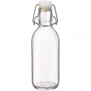 Trudeau Emilia Bottle W/stopper 17oz - Bormioli Rocco
