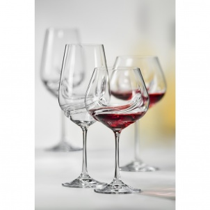 Trudeau SET OF 2 OXYGEN WINE GLASSES- 19.5 OZ