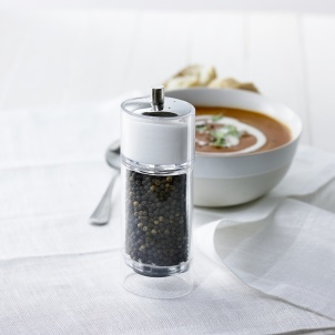 "6.5"" JENA COMBO PEPPER MILL & SALT SHAKER"
