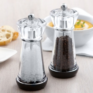 "6"" PEPPER MILL & SALT MILL"