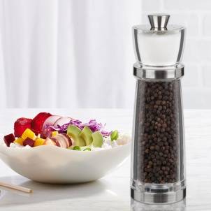 "7"" JULIANA COMBO PEPPER MILL & SALT SHAKER"