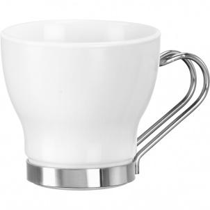 AROMATECA OSLO ESPRESSO CUP 3-3/4 OZ WHITE