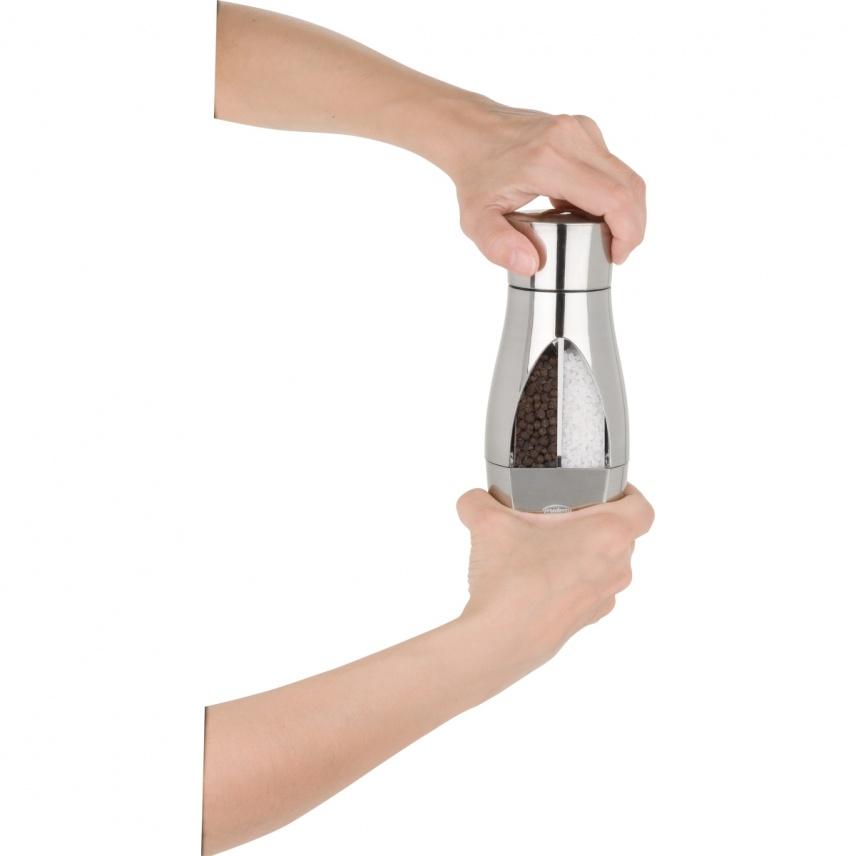 Moulin à sel et à poivre 2 en 1 - 16 cm