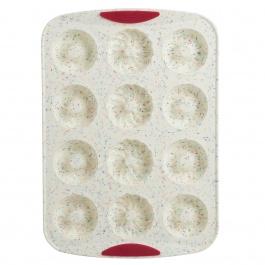 Moule A 12 Beignes Confetti Fuchsia