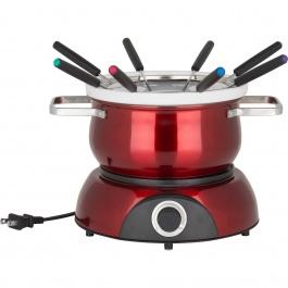 Ensemble à fondue électrique 3-en-1 Scarlet