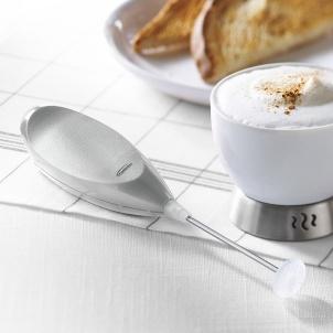 Trudeau Mousseur à lait à piles en acier inoxydable