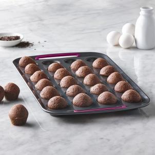 Moule à 24 mini muffins en métal