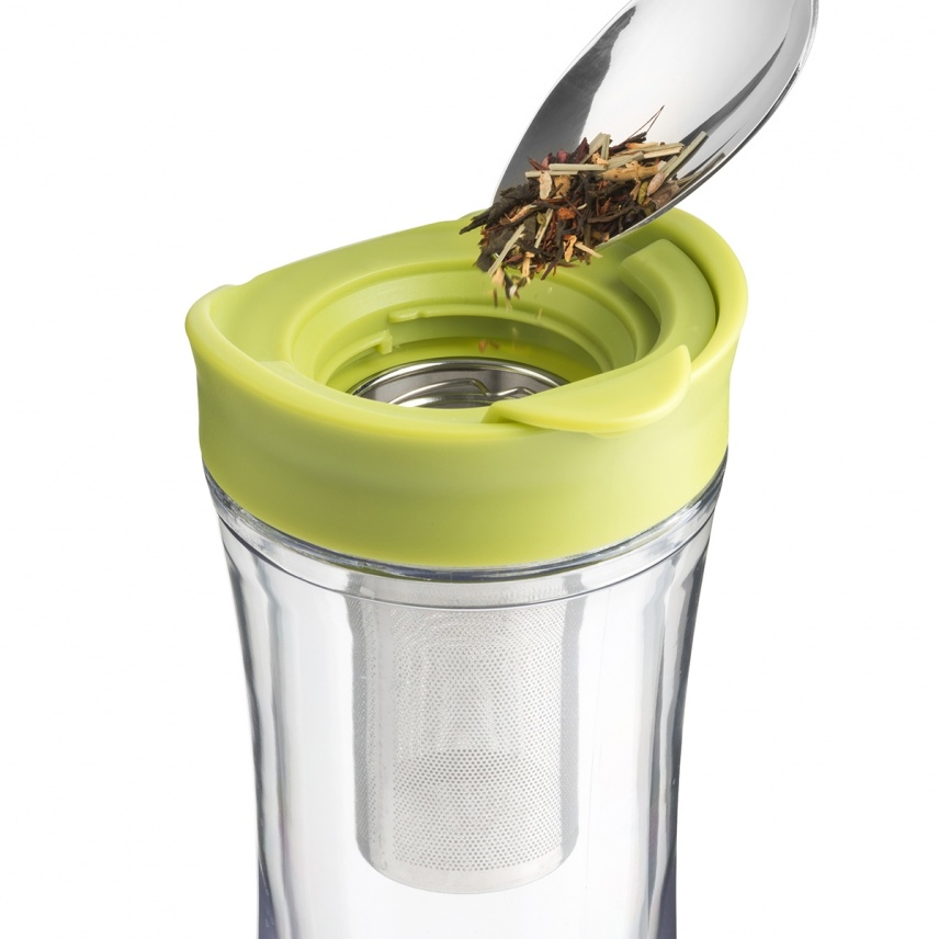 TEA-RIFFIC II TUMBLER - 14 OZ