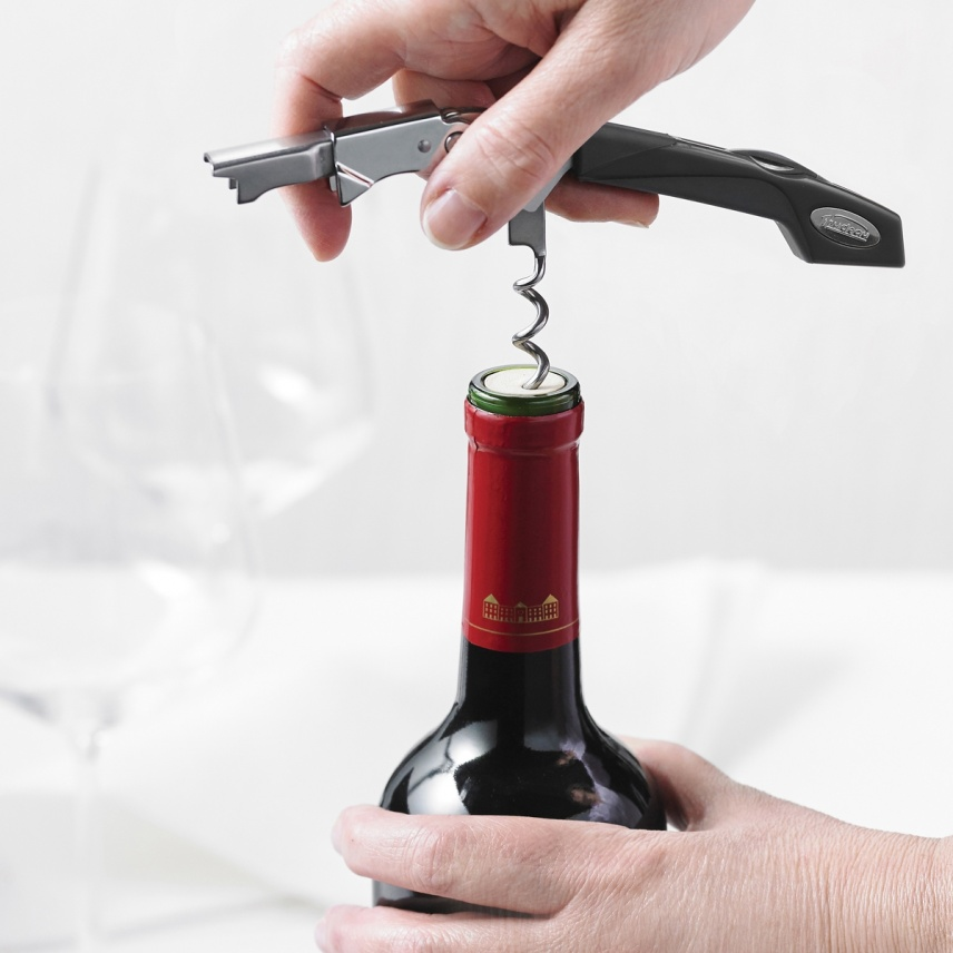 TURBO DOUBLE LEVER CORKSCREW