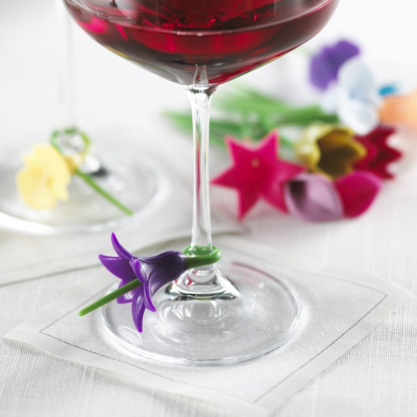 Wine Charms / 1 Box of 12 Stems