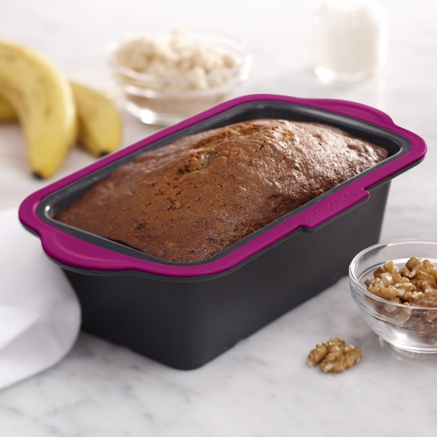 """STRUCTURE SILICONE™ PRO LOAF PAN 8.5x4.5"""""""