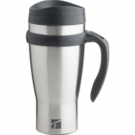 DRIVE TIME STAINLESS STEEL TRAVEL MUG 18OZ