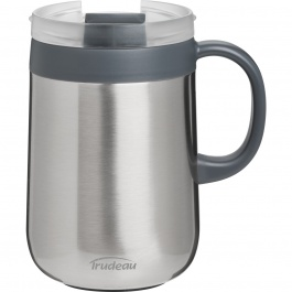 DESKTOP STAINLESS STEEL VACUUM DESK MUG 16OZ