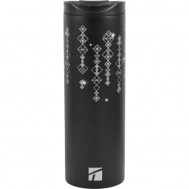 Sleek Ss Vac Tumbler Black 15oz