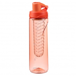 Wave Infusing Bottle Tritan Coral 24oz