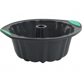 STRUCTURE SILICONE™ FLUTED CAKE PAN 10 CUP