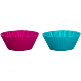SET OF 12 STANDARD SILICONE MUFFIN CUPS