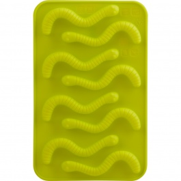 St/2 Gummy Worms Choco Molds