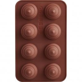 SET OF 2 CHOCOLATE MOLDS- SWIRL