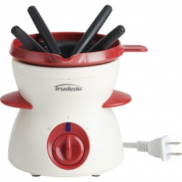 Electric Chocolate Fondu Set - 7 pieces